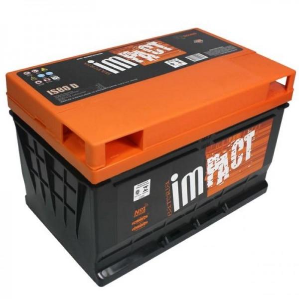 Bateria Impact Menor Preço na Aclimação - Bateria Impact 80