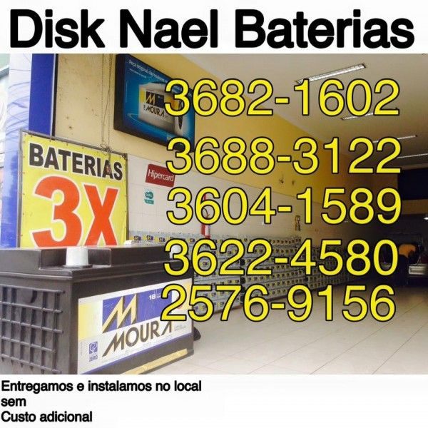 Baterias de Automóveis Onde Obter na Freguesia do Ó - Bateria Automotivo